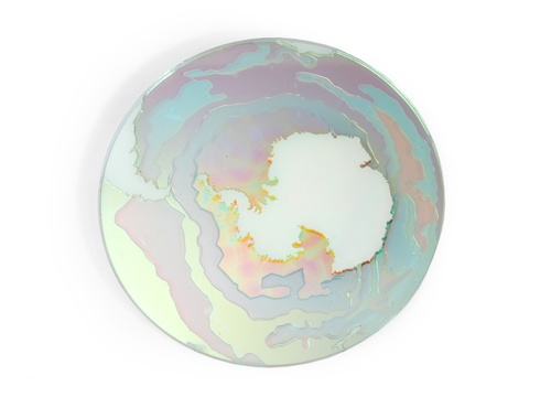 Jasmine Targett- Life Support Systems: from Earth, 2011. Glass. image